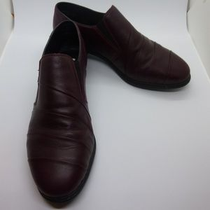 Rieker Antistress Oxblood Red Slip On Shoes, 7 1/2